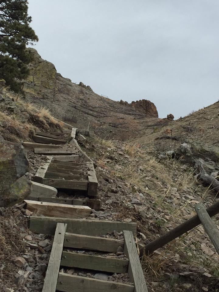 Hiking Bear Butte