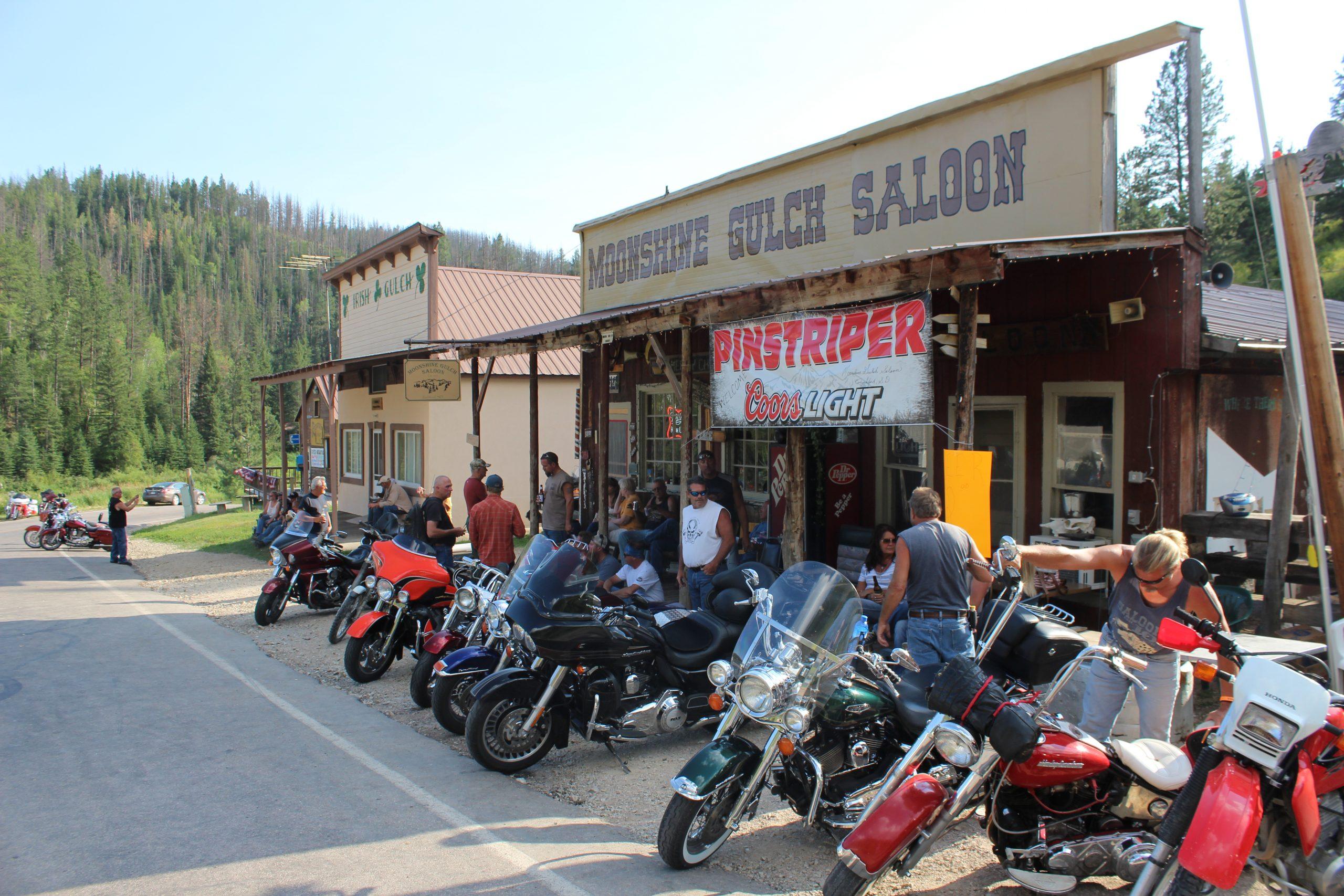 Motorcycle Season in The Black Hills